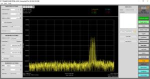 Easy saving capabilities in the S240 rf spectrum analyzer software