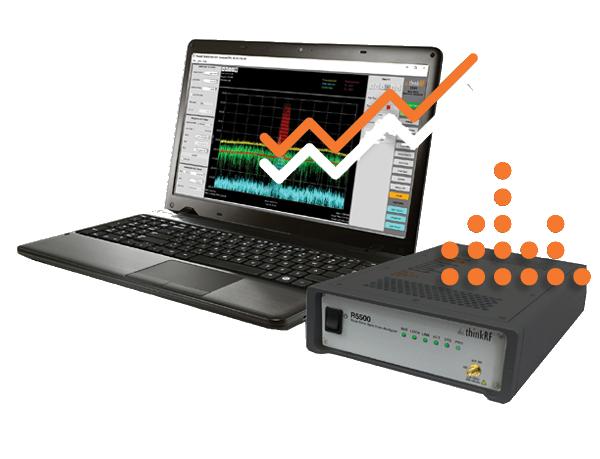R5500 Real-Time Spectrum Analyzer - ThinkRF