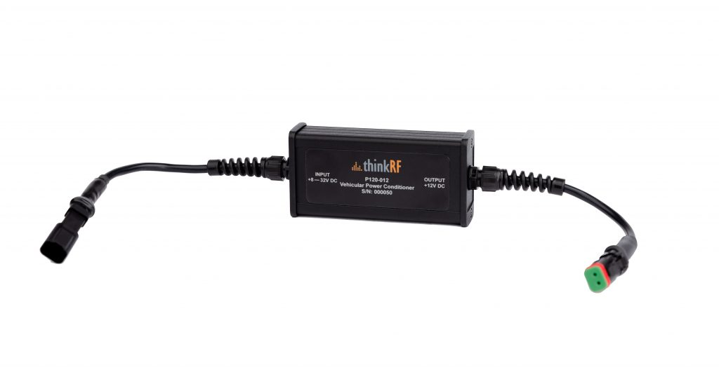 P120 Vehicular Power Conditioner for mobile analysis