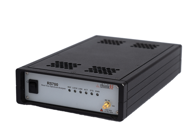 ThinkRF R5700 Real-Time Spectrum Analyzer with GNSS