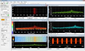 DynamicSignals SpectraScopeRT Spectrum Analyzer Software