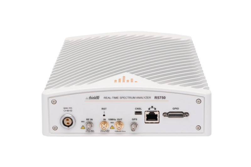 ThinkRF R5750 Real-Time Spectrum Analyzer with GPS